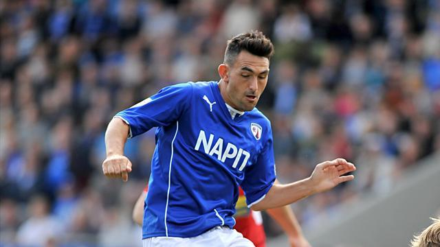 League Two - Leaders Chesterfield sink nine-man Oxford