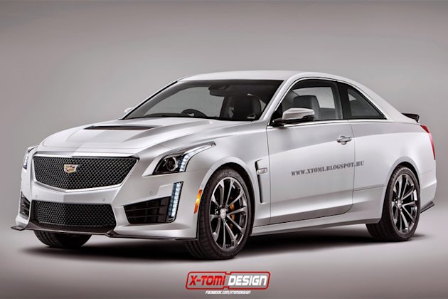 ... 420 jpeg 45kB, Behold! The Rendered Cadillac CTS-V Coupe - Yahoo Autos