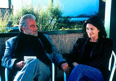 Maximilian Schell as Viktor Kovner and Anouk Aimee as Millie Marquand in Paramount Classics' Festival in Cannes