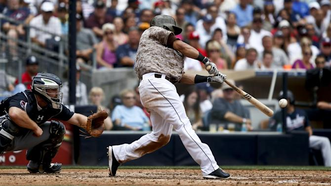 Cabrera's hit in 10th gives Padres win over Braves