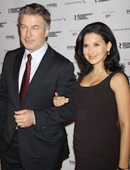 Alec Baldwin enjoys surprise birthday party