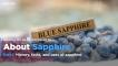 About Sapphire - School of Hard Rocks Lesson 36
