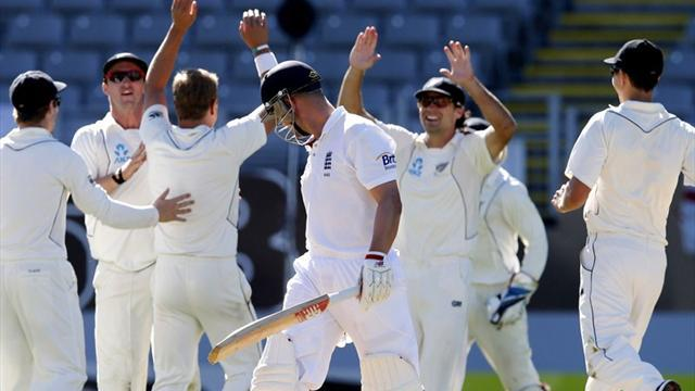 Cricket - England face humiliating series defeat in New Zealand