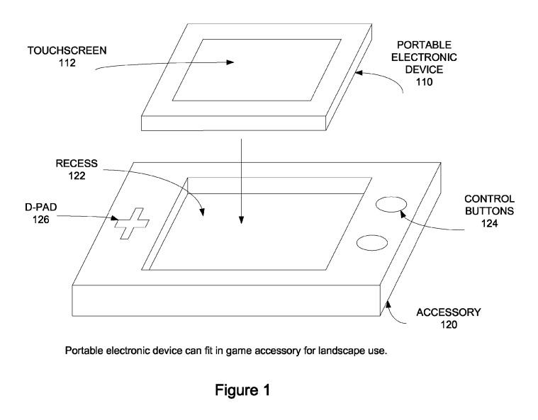 Apple Patents iPhone Gaming Controller