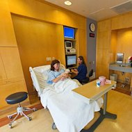 UCLA Medical Center Hospital Room
