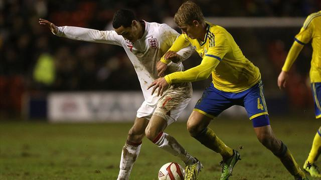 Euro U21 - Ince gets two in England U21 rout