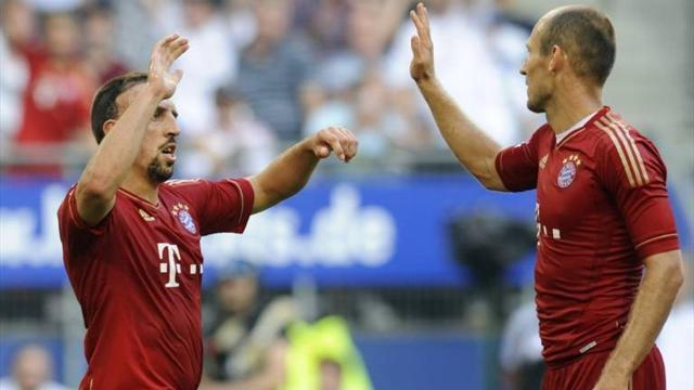 Ribery fit, Robben a doubt for Bayern