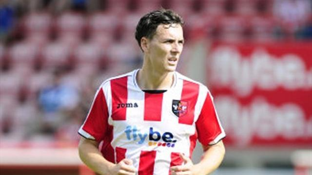 League Two - Gow earns Exeter share of spoils with Torquay