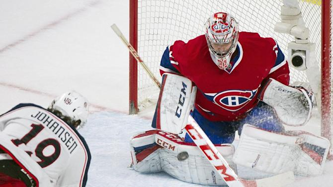 Johansen lifts Blue Jackets past Canadiens