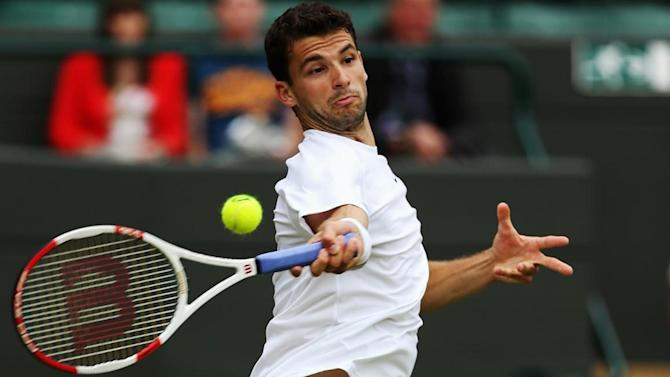 Wimbledon - Men's round-up: Dimitrov sets up Murray meeting