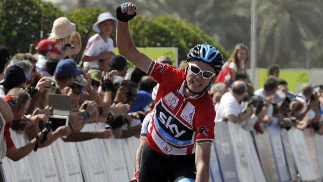Cycling - Froome seals Tour of Oman title