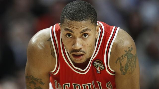 Basketball - Rose withdrawn by Bulls