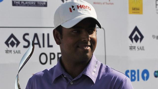 Golf - India's Lahiri defends title after play-off victory