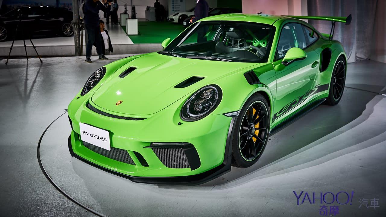 【新車圖輯】最速NA後驅突襲發表!Porsche 911 GT3 RS上市暨70週年廠慶同步展演