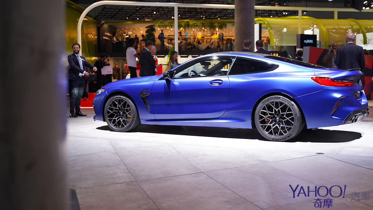 【2019法蘭克福車展】性能讚頌!暴力GT座駕BMW M8 Competition 閃耀登場!