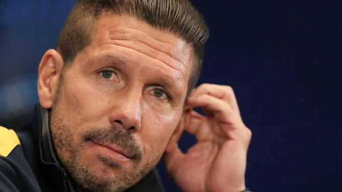 World Cup - Simeone inadvertently breaks news of journalist's death to widow