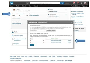 LinkedIn – How to Add, Change or Remove Your Email Address on LinkedIn image BLOG email address change image