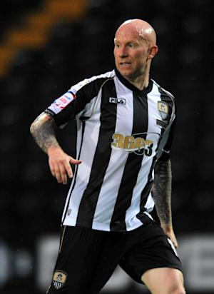 Notts County striker Lee Hughes has been given a three-match ban