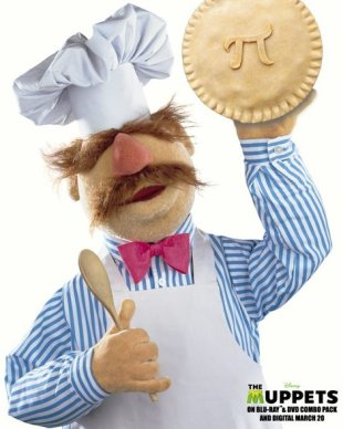 Even the Swedish Chef loves pie! And maybe pi, too.