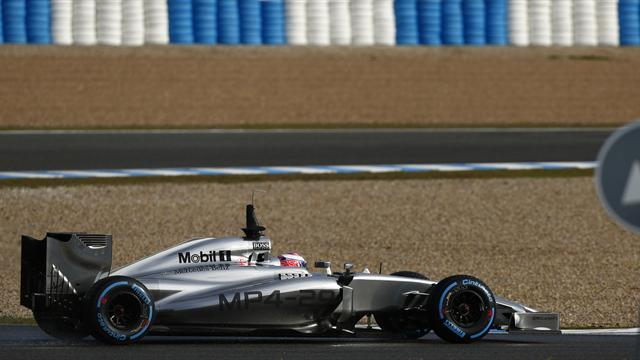 Formula 1 - Button again quickest at Thursday morning testing