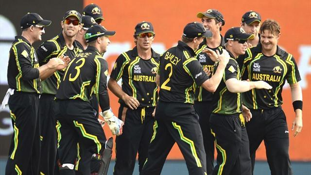 Australia ease past Ireland in World T20