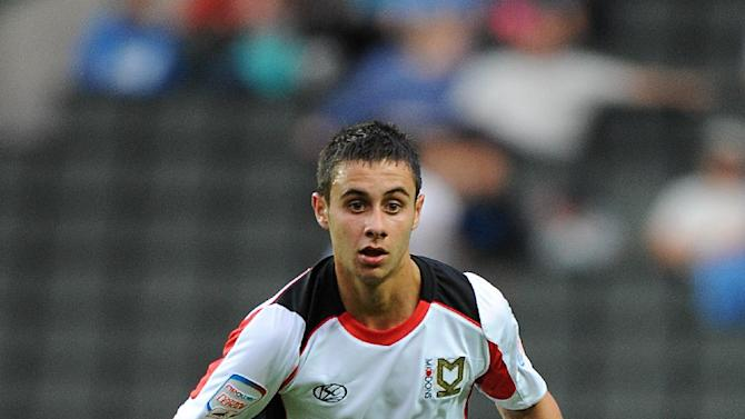George Baldock has been rewarded with a new deal at MK Dons