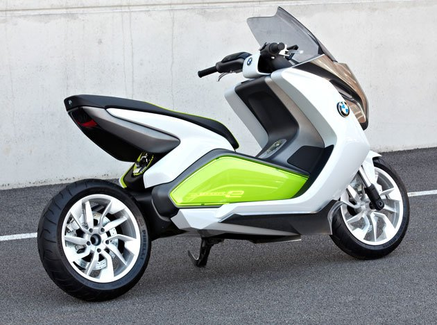 first look bmw concept e scooter latest news from india. Black Bedroom Furniture Sets. Home Design Ideas