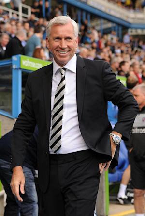 Alan Pardew was pleased to be able to 'squeeze past' Club Brugge