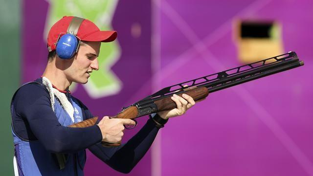 Wilson wins Olympic double trap gold