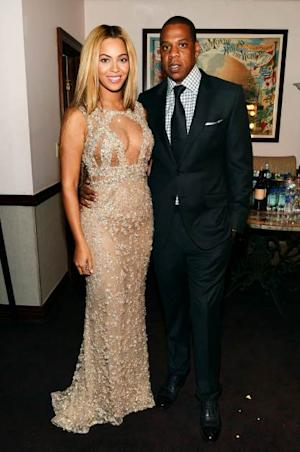 Beyonce and Jay-Z attend the HBO Documentary Film 'Beyonce: Life Is But A Dream' New York Premiere at the Ziegfeld Theater on February 12, 2013 in New York City -- Getty Images