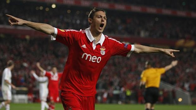 Nemanja Matic in action for Benfica (Reuters)