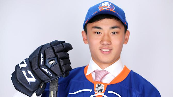 Ice Hockey - Chinese-born Andong Song makes NHL history by joining Islanders