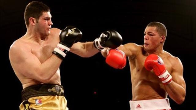 Boxing - Lionhearts end Kazakhstan's run