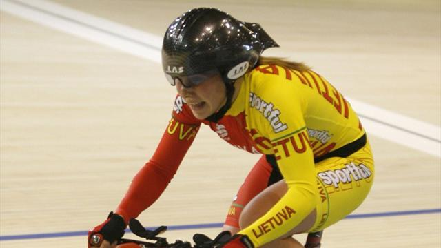 Cycling: Lithuania start well at European Elite Track Championships