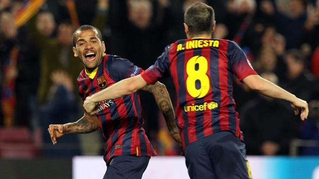 Liga - Alves relishing Clasico