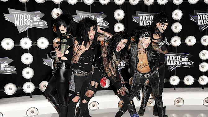 Black Veil Brides MTV Vmas