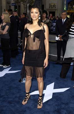 Kelly Hu at the Hollywood premiere of 20th Century Fox's X2: X-Men United