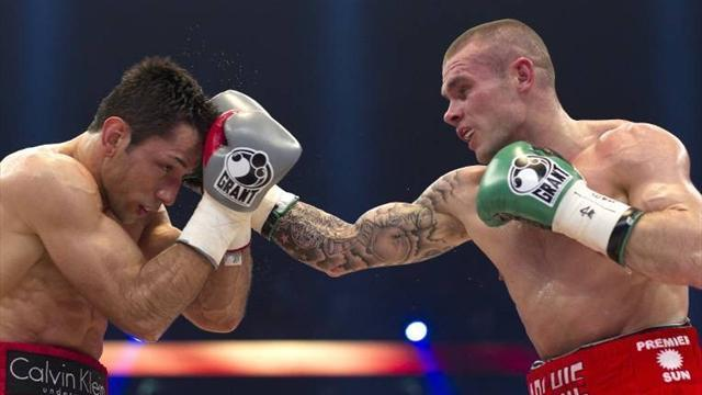 Boxing - Martin Murray to fight Sergio Martinez in April