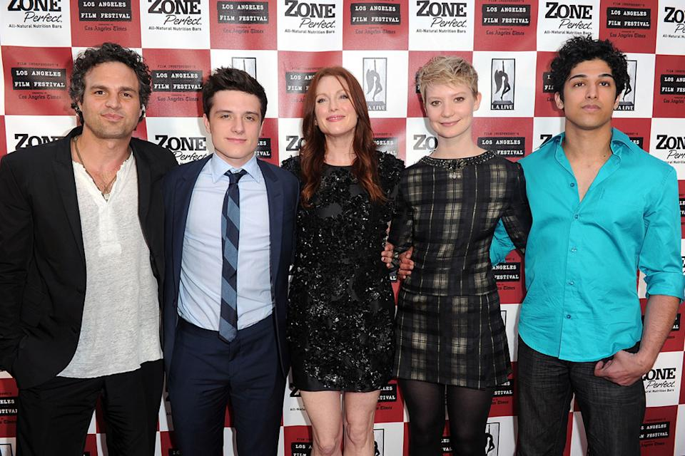 The Kids Are All Right LA Film Fest Premiere 2010 Mark Ruffalo Josh Hutcherson Julianne Moore Mia Wasikowska Kunai Sharma