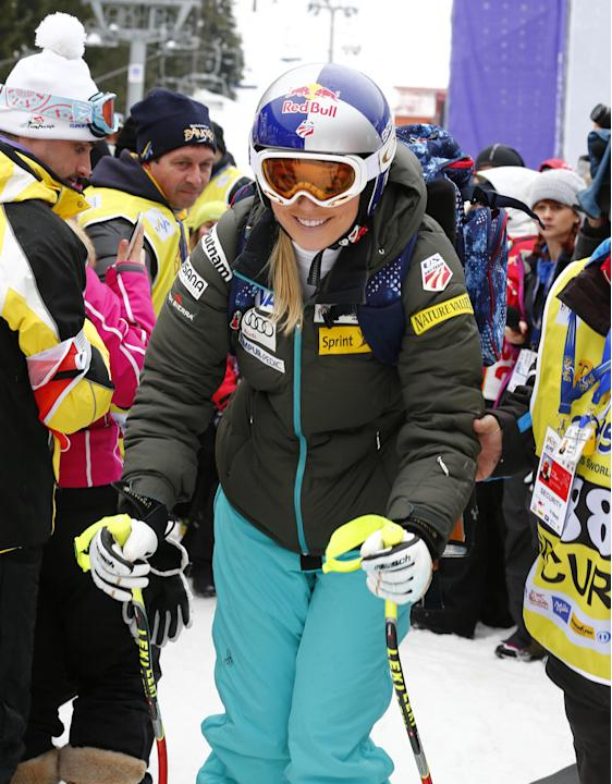 Fenninger leads after 1st leg of Alpine combined World Cup