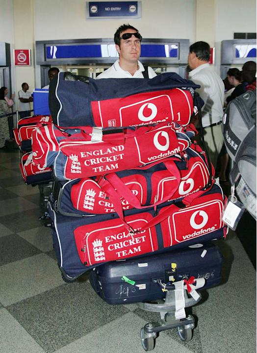 England Team Travels To Zimbabwe