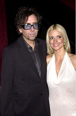 Tim Burton and Lisa Marie at the New York premiere of 20th Century Fox's Planet Of The Apes