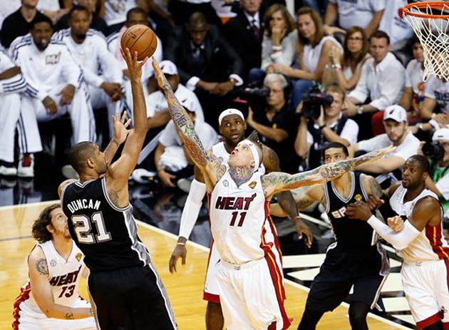 James, Heat beats Spurs 103-100 in OT; Game 7 next