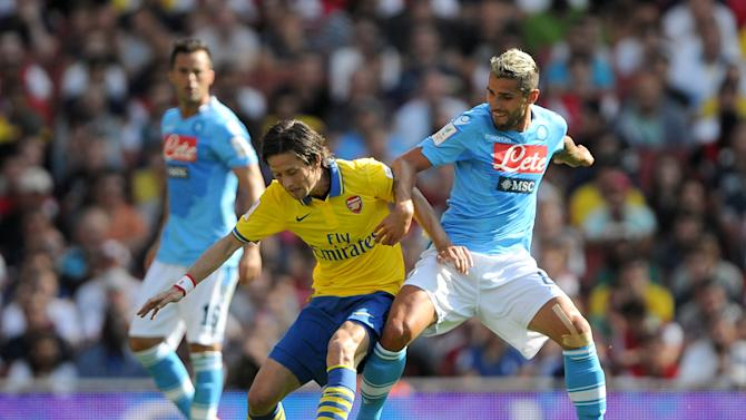 Soccer - Emirates Cup 2013 - Arsenal v Napoli- Emirates Stadium
