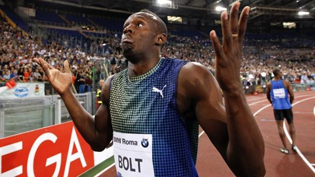 Athletics - No hamstring problems during Rome defeat for Bolt