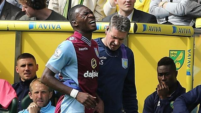 Premier League - Benteke ruled out until New Year