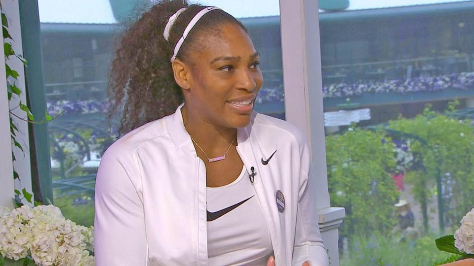 Serena Williams Opens Up on Tying Grand Slam Record