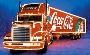 Holiday Advertising from Coca Cola image CocaCola Caravan