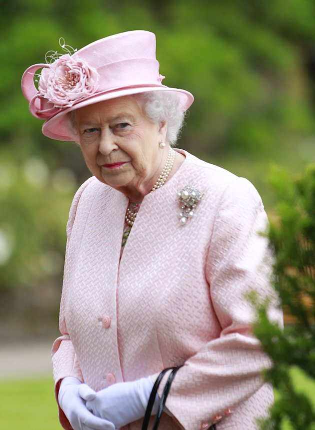 Could the royal couple pay homage to the Queen with the girl's name Elizabeth? [AP]