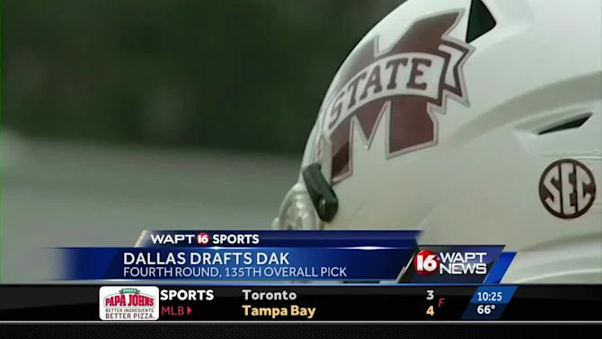 NFL teams nab several Mississippi school players on final day of draft